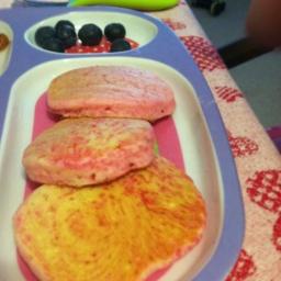 Pretty Princess Pink Pancakes