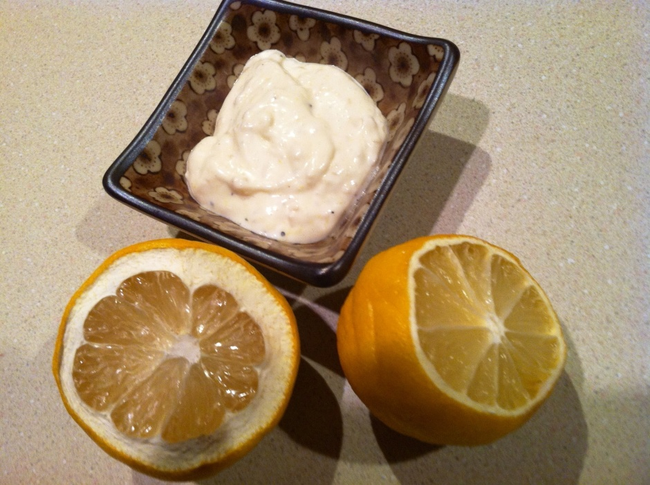 lemon aioli