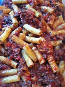 Pasta & Meat Sauce