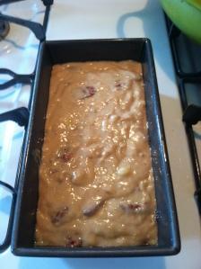 uncooked bread