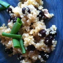 Blueberry Ginger Quinoa