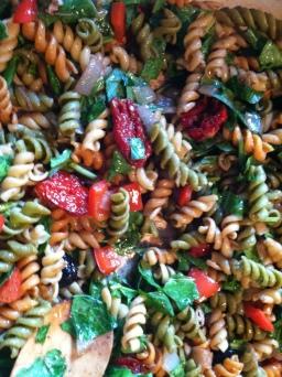 Spring Veggie Pasta Salad