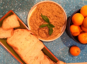 Eggplant-Olive tapenade