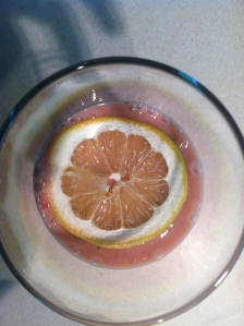 lemon garnish