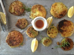 Tasha's Corner: Fried Green Tomatoes (poor things!)