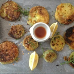 Tasha's Corner: Fried Green Tomatoes (poor things!)