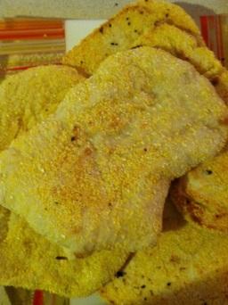 Pita (with cornmeal)