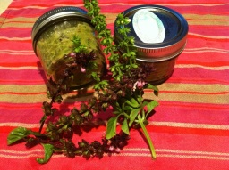 Herb Flower Pesto