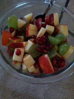 Early Morning Fruit Salad