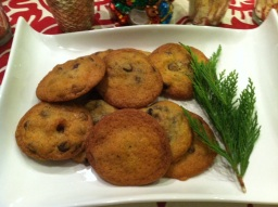 Edible Gifts Day 4: Chocolate Chip Bacon Cookies