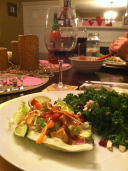 Guest Recipe: Tofu Lettuce Wraps