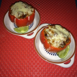 Tasha's Corner Returns! Stuffed Tex Mex Peppers