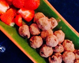 Orange Blossom Truffles