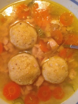 Rainy Day Matzoh Ball Soup