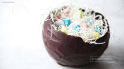 DIY: CHOCOLATE BIRD'S NEST